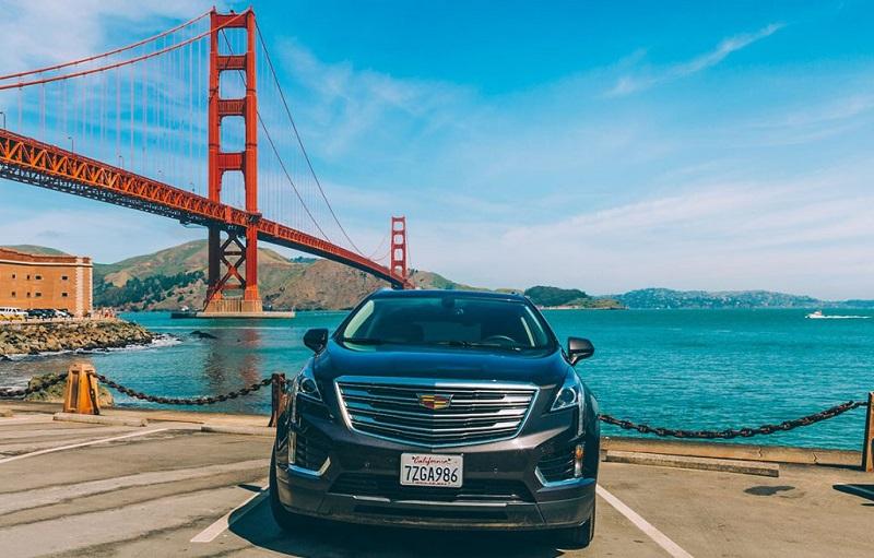 Carro em San Francisco