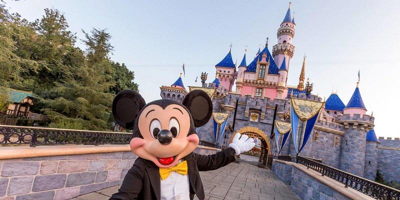 Mickey e Castelo da Bela Adormecida - Disneyland Califórnia
