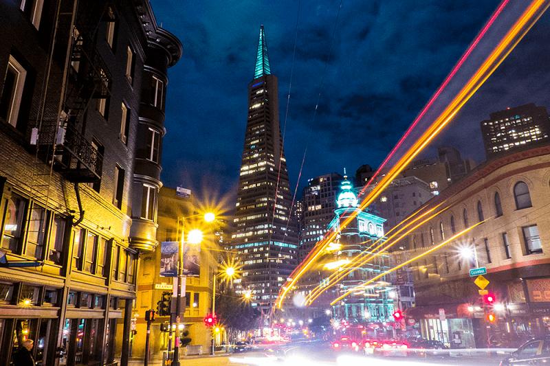 Noite em San Francisco