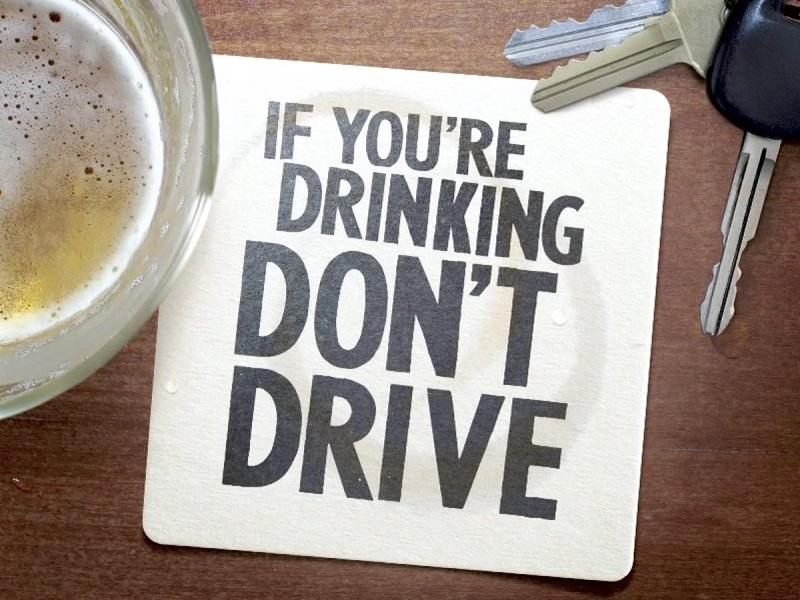 Se beber, não dirija!