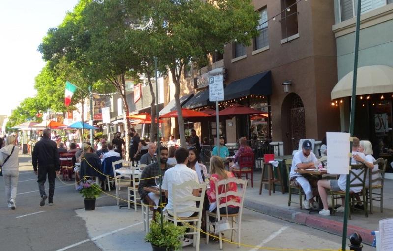 Little Italy em San Diego