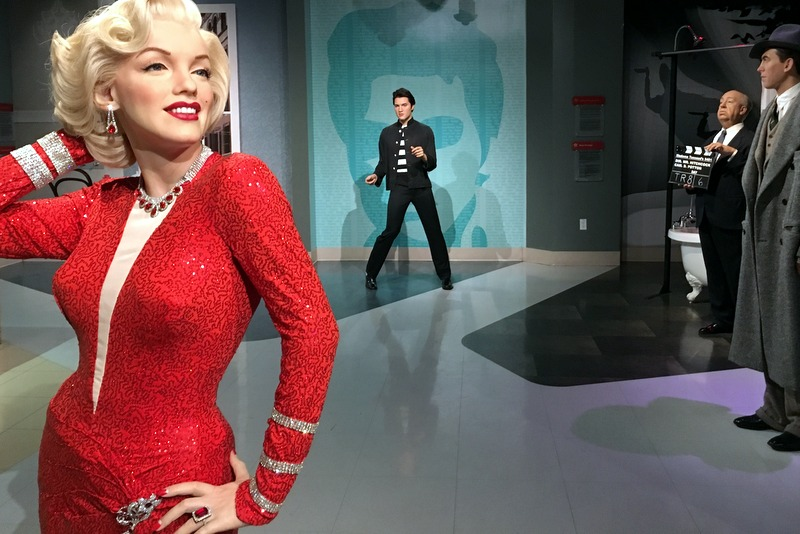 Boneco da Madona - Museu Madame Tussauds