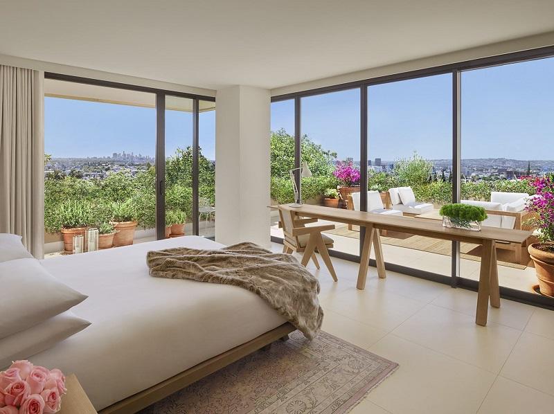 Quarto de hotel luxuoso em Los Angeles