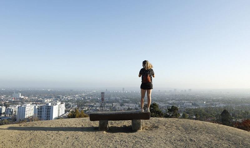Viagem sozinha em Los Angeles