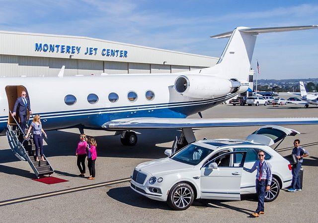 Transfer do aeroporto de Monterey ao centro turístico