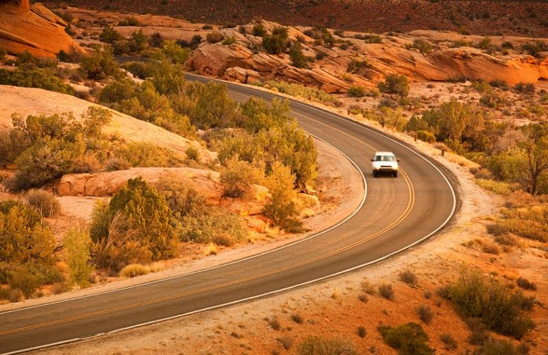 Carro em Grand Canyon