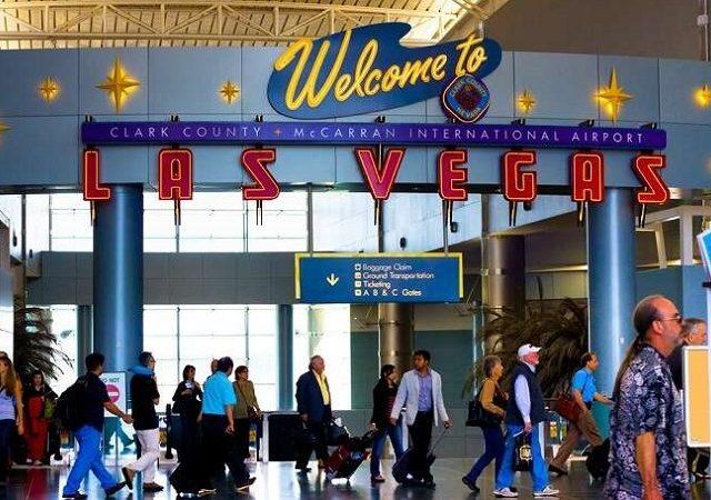 Transfer do aeroporto de Las Vegas ao centro turístico